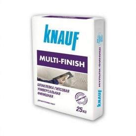 Штукатурка гипсовая Кнауф Мульти-Финиш Г2 ШГ2-5 25 кг