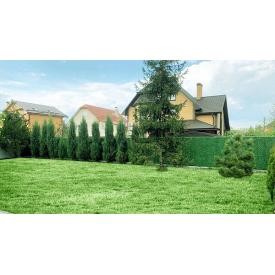 Благоустройство територий зеленым забором из ПВХ 100-200 см