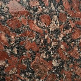 Гранитная плитка в обработке кожа Leather Rosso Santiago 600Х400Х17 мм