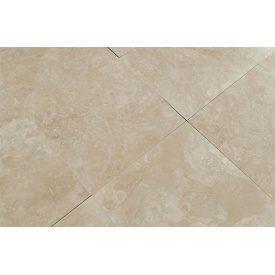 Плитка из травертина Cross Cut Filled&Honed Tiles Select Medium 40,6x40,6