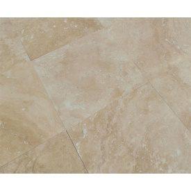 Плитка из травертина Cross Cut Filled&Honed Tiles Standard Medium 40,6x40,6