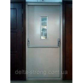 Двері протипожежні Дельта ЕІ-30 метал скло