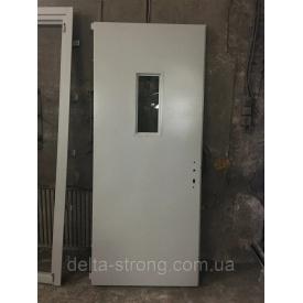 Двери противопожарные Дельта ЕІ-30 листовой металл огнестойкое стекло