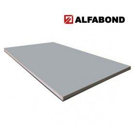 Алюмінієва композитна панель Alfabond 1250x5600х4/0,3 мм Silver