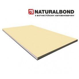 Алюмінієва композитна панель Naturalbond 1500x5800х4/0,4 мм Light Ivory (RAL 1015)