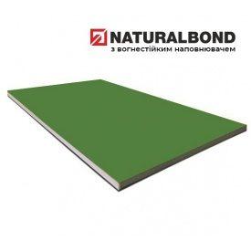 Алюмінієва композитна панель Naturalbond 1500x5800х4/0,4 мм May Green (RAL 6017)