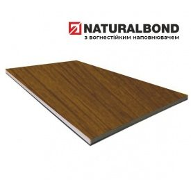 Алюминиевая композитная панель Naturalbond 1250х6000х4/0,5 мм Dark Cherry