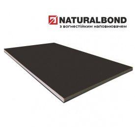 Алюмінієва композитна панель Naturalbond 1250x5000х4/0,5 мм Anthracite Grey (RAL 7016)