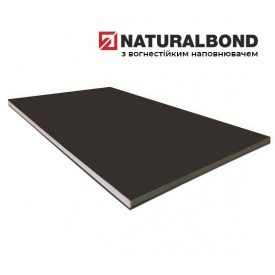 Алюминиевая композитная панель Naturalbond 1250х5000х4/0,5 мм Anthracite Grey (RAL 7016)