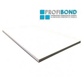 Алюмінієва композитна панель Profibond 1250x5600х4/0,3 мм бiлий