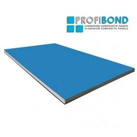 Алюминиева композитная панель Profibond 1500х4610х4/0,4 мм Light Blue (RAL 5012)