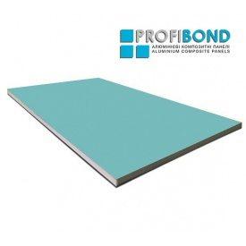 Алюмінієва композитна панель Profibond 1500x4610х4/0,4 мм Light Green (RAL 6027)