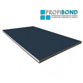 Алюмінієва композитна панель Profibond 1250x5600х4/0,4 мм синій (RAL 5008)