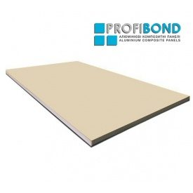 Алюминиевая композитная панель Profibond 1500х5800х4/0,4 мм Light Ivory (RAL 1015)