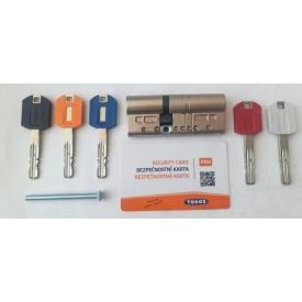 Цилиндр TOKOZ PRO 300 ключ/ключ 130мм 60х70
