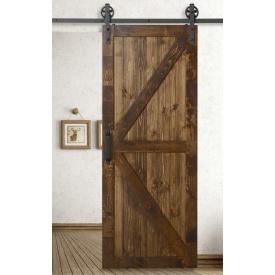 Комплект розсувної системи Loft в стилі LOFT 2 м для 1 двері до 100 кг