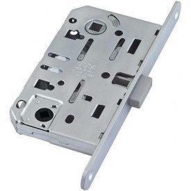 Замок механизм межкомнатный магнитный AGB Mediana Polaris матовый никель