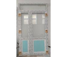 Двери входные штульповые из 5-камерного дверного профиля WDS 1410х2500 мм
