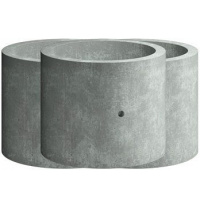 Кільце стінове Elit Beton КС 20.9 залізобетонне 2000х900 мм