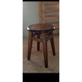 Табурет с круглой крышкой для кухни бук 450х300х300 мм