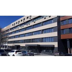 Монтаж вентильованих фасадів з керамограніта