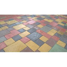 Сухопрессованная тротуарная плитка Венеция 4,5см