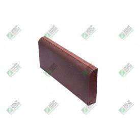 Поребрик тротуарний пресований 500х200х50 мм червоний