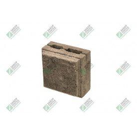 Полублок облицювальний колотий з фаскою 390х190х188 мм сурик