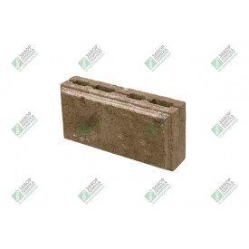 Блок облицювальний колотий з фаскою 390х190х188 мм сурик