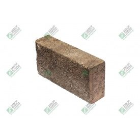 Блок облицювальний колотий без фаски 390х90х188 мм сурик