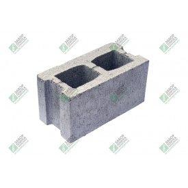 Блок строительный гладкий без дна 390х190х188 мм