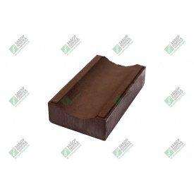 Водостік пресований 280х160х60 мм коричневий