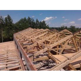 Монтаж крыш любой сложности под битумную черепицу