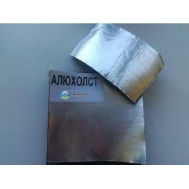 Каучуковая изоляция самоклейка с покрытием Алюхолст 10 мм для наружного применения