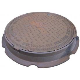 Люк чавунний каналізаційний середній типу С-Б В125 ПР