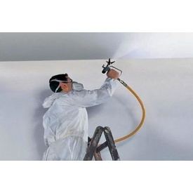 Покраска потолка безвоздушным способом