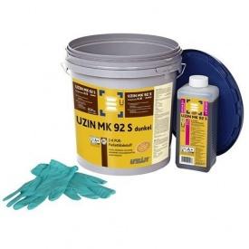 Двокомпонентний клей UZIN MK 92 S темний 10 кг