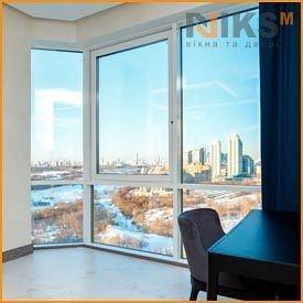 Панорамное окно WDS 2100х2500 мм