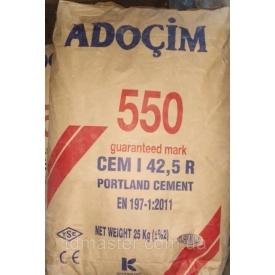 Цемент Adocim ПЦ-550 25 кг 60 шт (Турция)