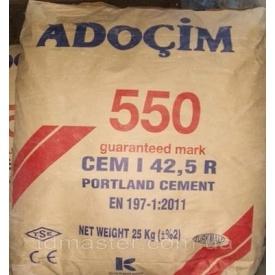Цемент Adocim ПЦ-550 25 кг 60 шт (Харьков)