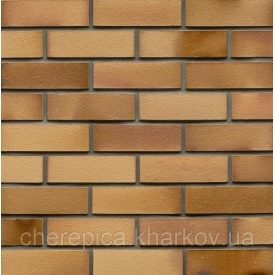 Клинкерный кирпич MUHR 06 EG Светло-коричневый глянцевый