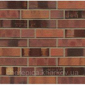 Клинкерный кирпич MUHR 18 Лососево-коричневый обоженный