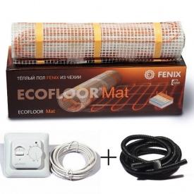 Комплект 0,5 м.кв электрический греющий мат на 0.5 м2 Fenix LDTS 80W