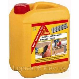 Пластифицирующе-гидрофобизирующая добавка для наружных отделок, штукатурок и стяжек Sika-1 5 кг