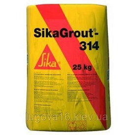 Подливочный и анкерующий, высокопрочный материал на цементной основе SikaGrout-314,25кг