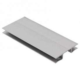 Универсальный угол под цоколь 100 мм серебро 820 Thermoplast Modern Slim