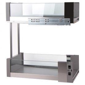 Карго 300мм графит/стекло, Essence VIBO (EGTGM30B2EVGFO)