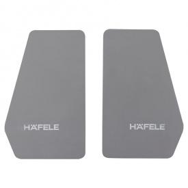 Комплект заглушок антрацит для FREE FLAP 3.15 Hafele