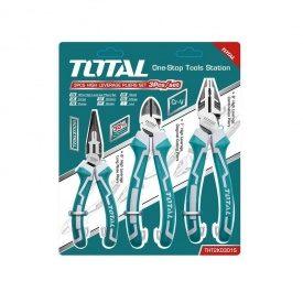 Набор TOTAL THT2K0301S шарнирно-губцевого инструмента 3шт.
