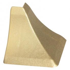 Бортик узкий Thermoplast наружный угол золото матовое 824